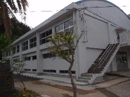 小宿中学校屋内運動場・After